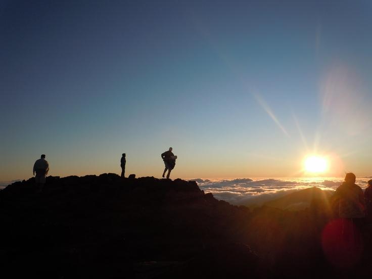 Sunrise at 10,000 ft:  Mt. Haleakala - Maui, Hawaii