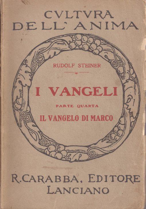 Il Vangelo di Marco - o.o. 139 (Rudolf Steiner) - copertina originale