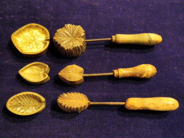 Antique Vintage Millinery Flower Leaf Cutter Trim Making Tool Metal Die Cut C #millinery #judithm #hats