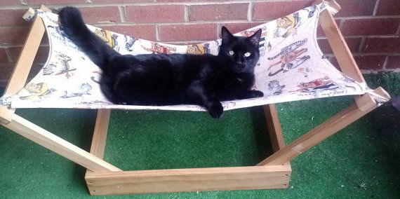 Create Your Own Cat/ Small Dog Hammock by ComicShirts on Etsy