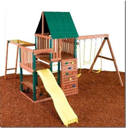 wood_swing_set_Swing-Slide-Chesapeake-Complete-Assemble