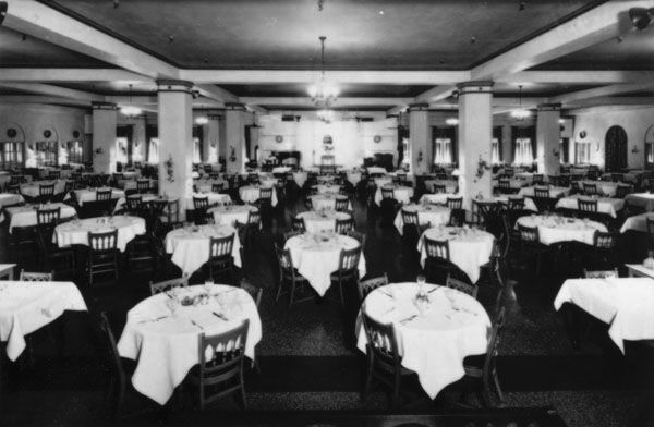 Interior Of Tea Room Located In The Innes Dry Goods