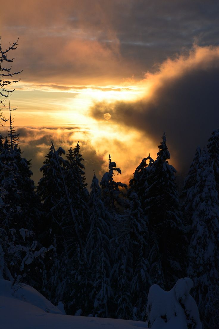 Winter on Cypress Mtn, Vancouver