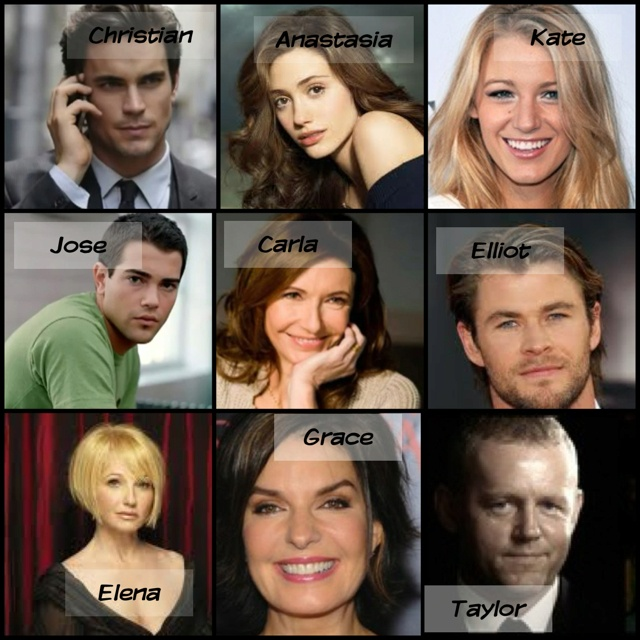 My dream cast. No one will ever be perfect enough to be Christian.