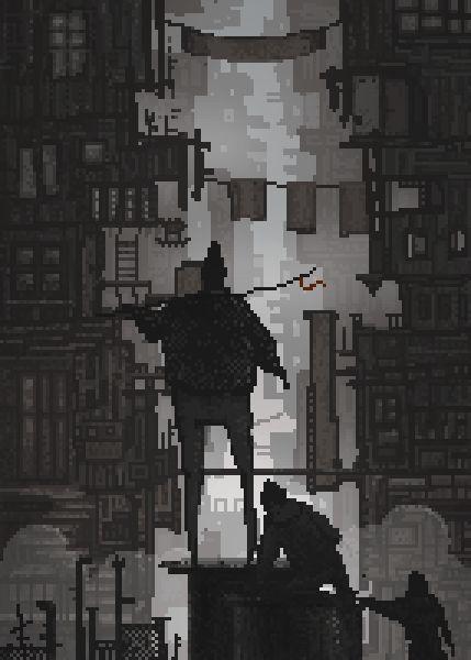 Mesmerizing pixel art.