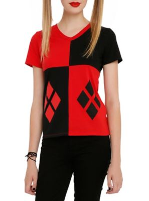 DC Comics Harley Quinn Girls Costume T-Shirt