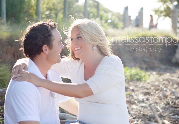 Engagement shoot on the beachEngagement Shoots