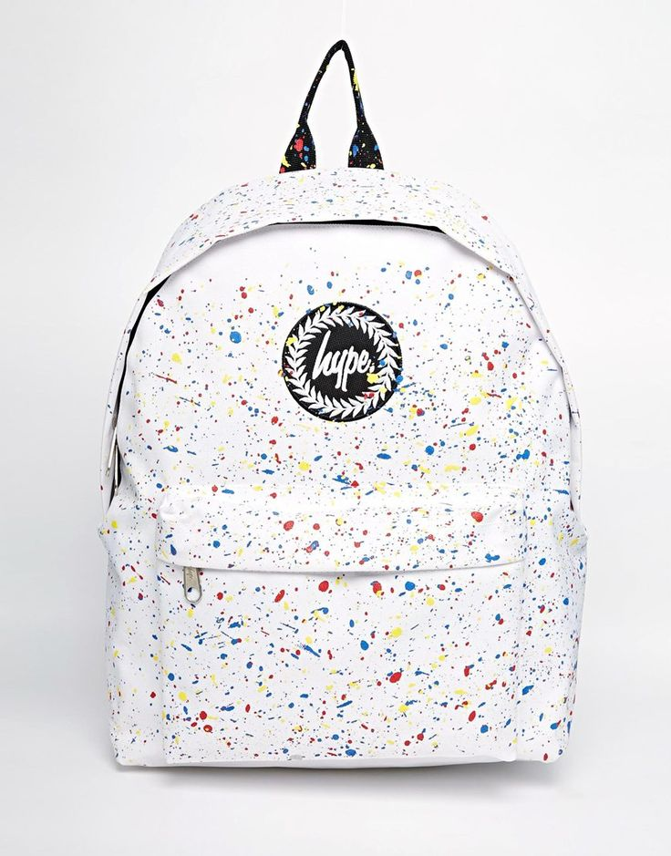 Hype+Backpack+with+Multicoloured+Speckle