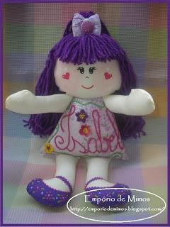 Boneca para uma Dama de Honra