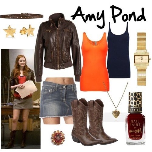 Amy Pond - Dr Who Fashion