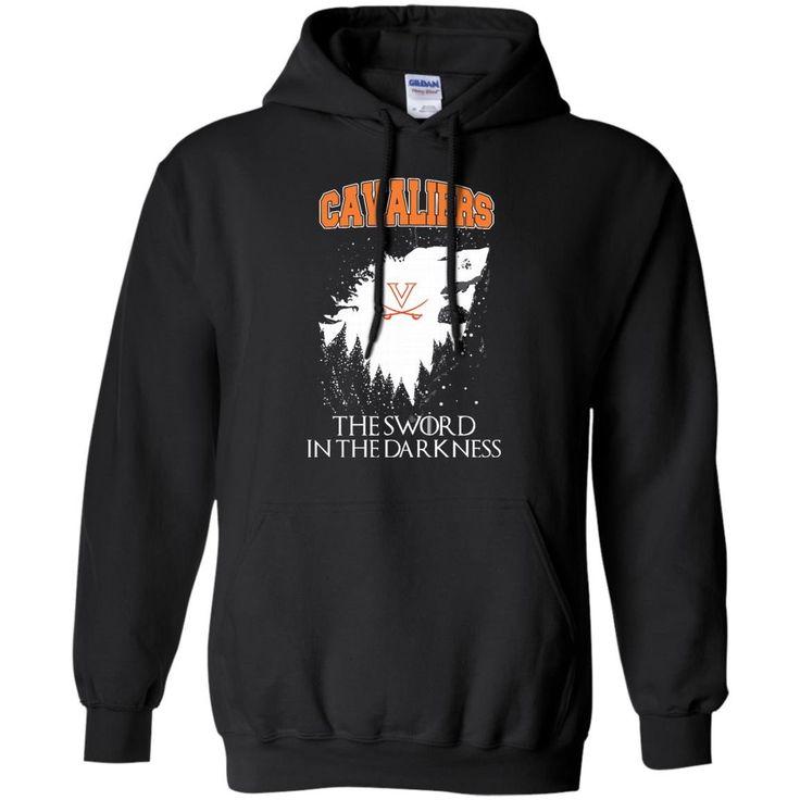 Virginia Cavaliers Game Of Thrones T shirts The Sword In The Darkness Hoodies Sweatshirts