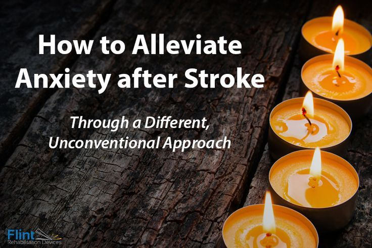 How to deal with anxiety after stroke