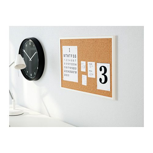 """VÄGGIS Noticeboard - IKEA - 22.75"""" x 15.25"""" - $5.99 each - get two for the kids to display their artwork!"""