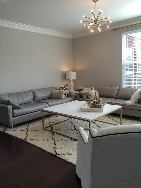 Gray Living Room Walls With Gray Leather Sofas Contemporary Living Room Sherwin Williams