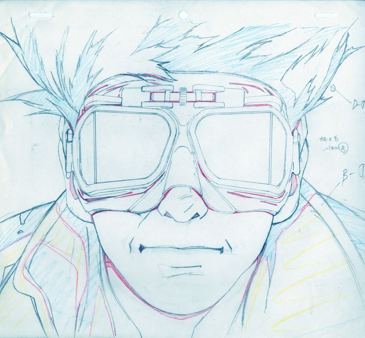 © Koji Morimoto  Cut 45 from EXTRA (1996), music video for Ken Ishii  Keyframe animation  With kind permission of Studio 4°C and R Records