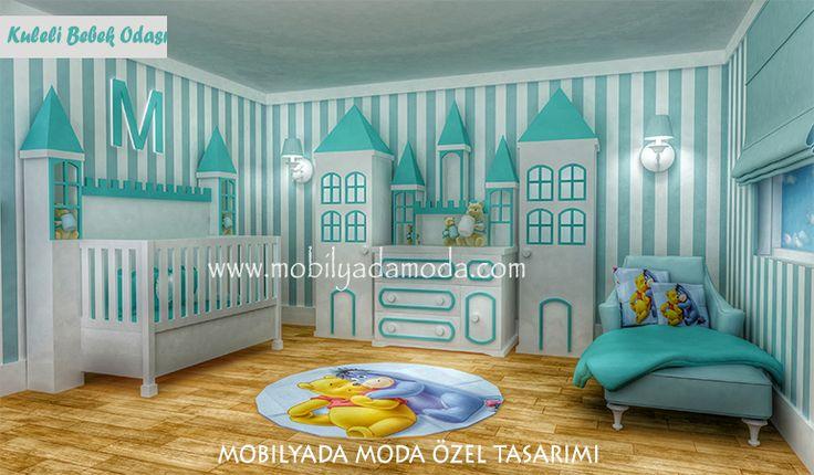 Mobilyada Moda Özel Tasarımı Kuleli Bebek Odası...  Bebeğini kimsede olmayan; kaliteli, sağlıklı ve farklı mobilyalarla büyütmek isteyenlerin tercihi olacak...