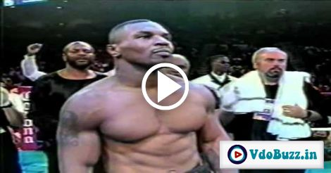 Watch Mike Tyson's First Fight After Years in Prison