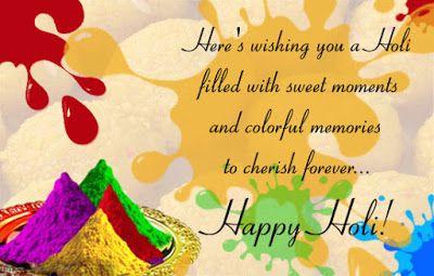 Happy Holi Greetings | Holi Greetings