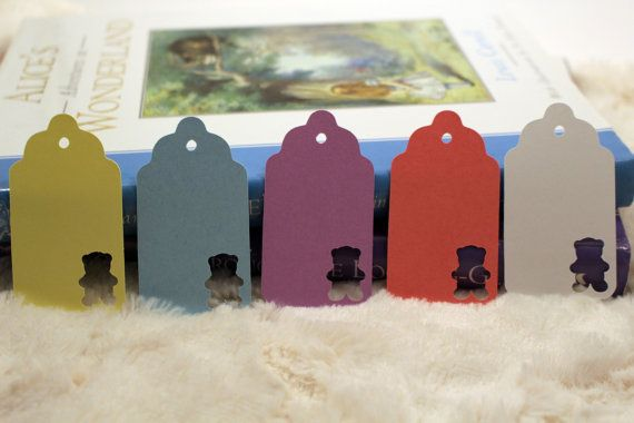 Teddy Bear Gift Tag  Perfect For Baby by SillyLoveSongCustoms