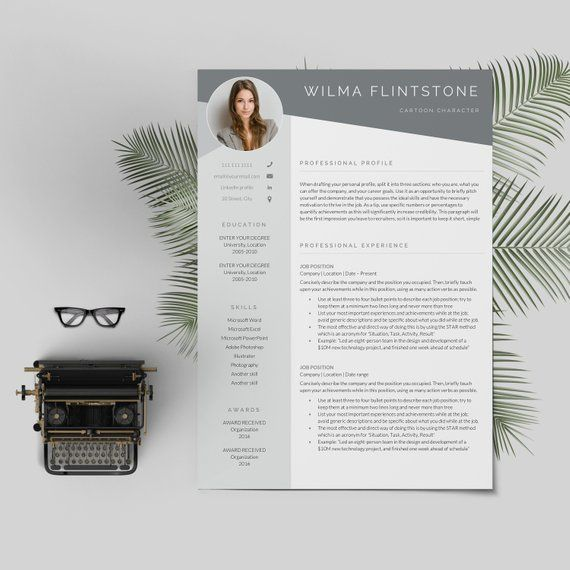 Resume Template Professional Resume Cv Template Modern Resume Resume Resume Template Resume Template Professional Resume Template Word Resume Design