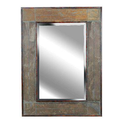 Wildon Home ® White River Wall Mirror