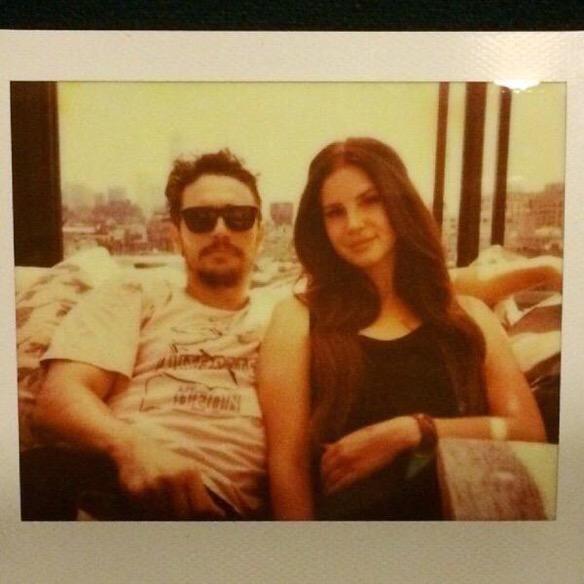 Lana Del Rey & James Franco. #LDR