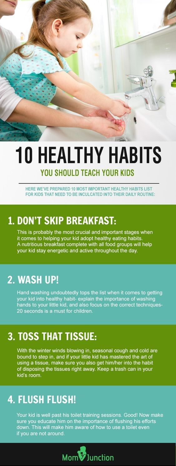 Top 20 Healthy Habits For Kids To Teach :  Congratulations! You're a proud parent of a little, naughty one-year old. With each passing day, your child learns and develops his physical and mental skills, and you as a parent, would want to contribute your best to ensure that your child learns and adopts healthy habits from the very beginning. #parenting #parentingtips