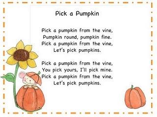 more pumpkin songs pumpkin songhalloween songshalloween worksheetspreschool - Halloween Song For Preschool