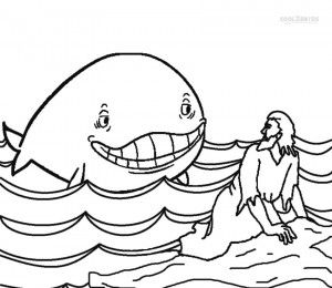 170 best kids - jonah images on pinterest | jonah and the whale ... - Jonah Whale Coloring Page