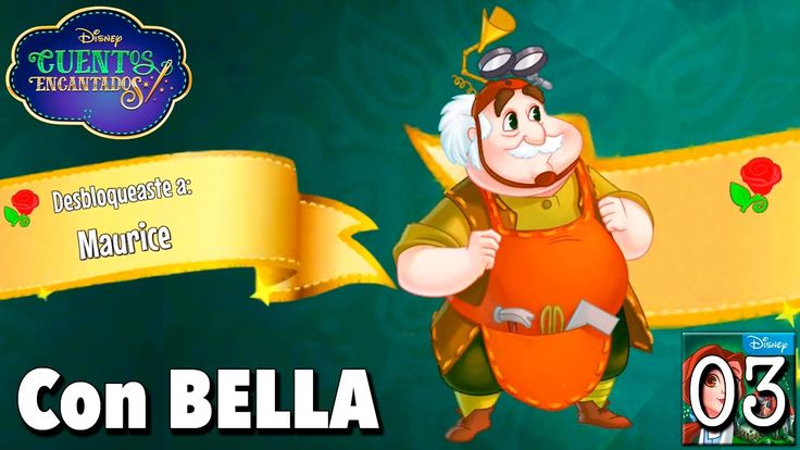 Bienvenido Maurice / Juego Disney Cuentos Encantados - Gameplay