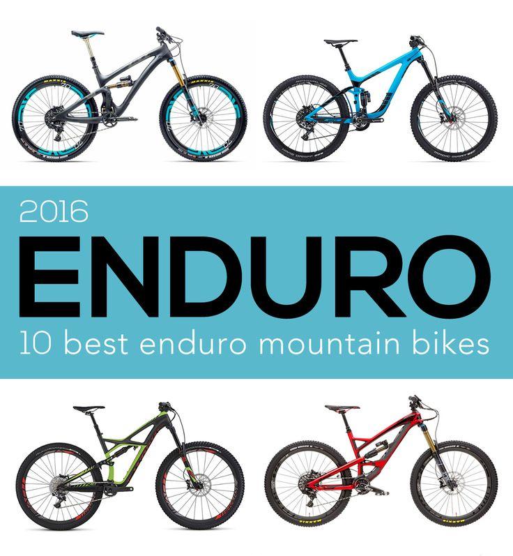 The 10 Best Enduro Mountain Bikes for 2016.