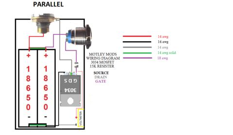 Motley Mods Box Mod Wiring Diagrams,Led Button,Switch