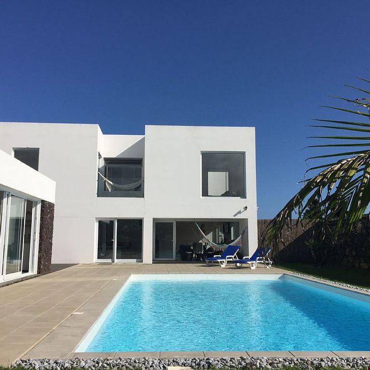 Aluguer de vivenda para férias em Açores - Back view of the Villa