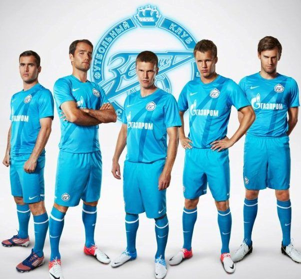 Zenit Sint Petersburg voetbalshirts 2012/2013 - Voetbalsh