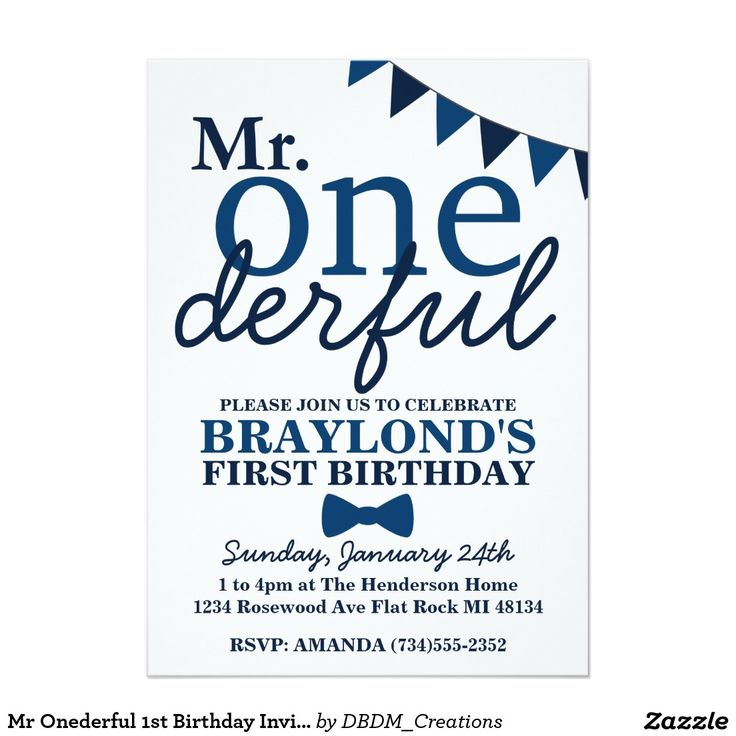 17 Best Images About Mr Onederful Birthday Theme Blue On