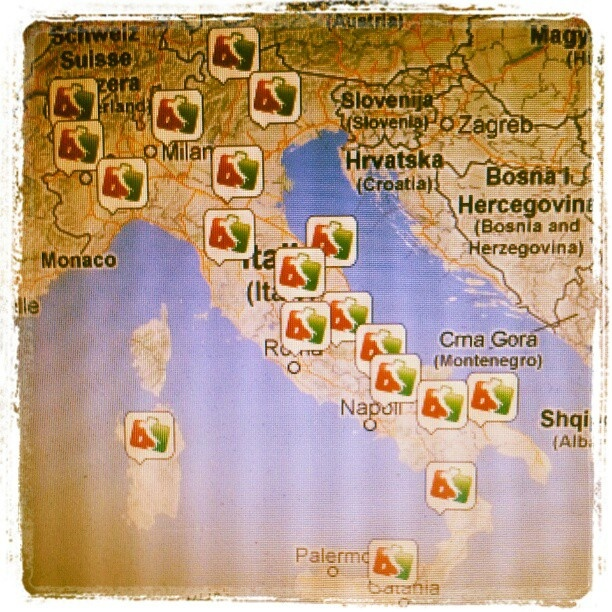 Siamo sbarcati su #Instagram! Sul nostro account http://instagram.com/allyoucanitaly potrete seguire i nostri spostamenti in giro per l'Italia in tempo reale! #allyoucanitaly