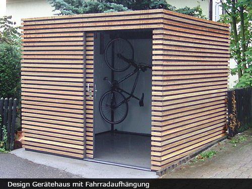 Garage modern holz  Die 25+ besten Gartenhaus modern Ideen auf Pinterest | moderne ...