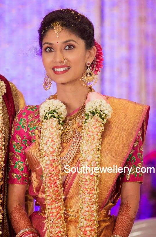 Pranathi reddy engagement jewellery