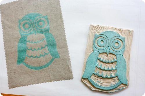 Stamp Owl