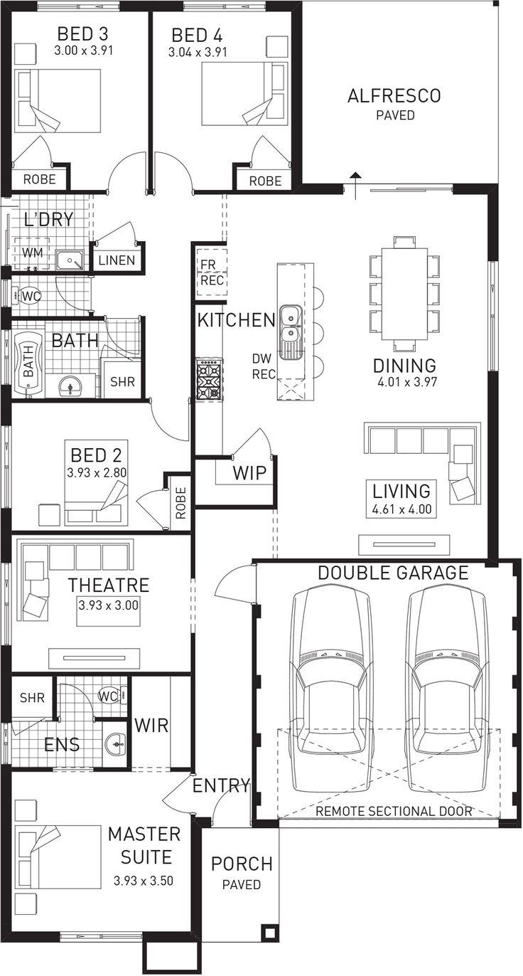 Grandeur, Single Storey Floor Plan, WA