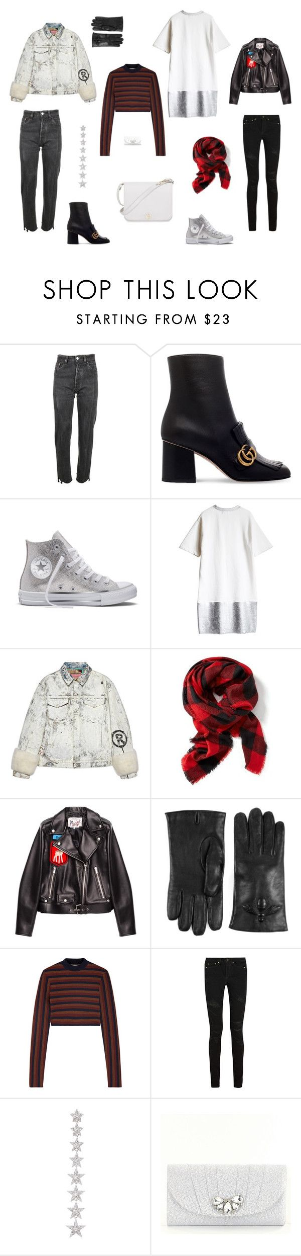 """NK1"" by neiman-bags on Polyvore featuring мода, Vetements, Gucci, Converse, Old Navy, Miu Miu, Victoria Beckham, Yves Saint Laurent, Elise Dray и Kate Landry"