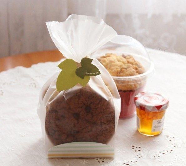 Упаковка для печенья пластиковый мешок еды подарочная упаковка сумки конфеты мешки для подарков питание хлебобулочные украшения упаковка печенья мешок купить на AliExpress