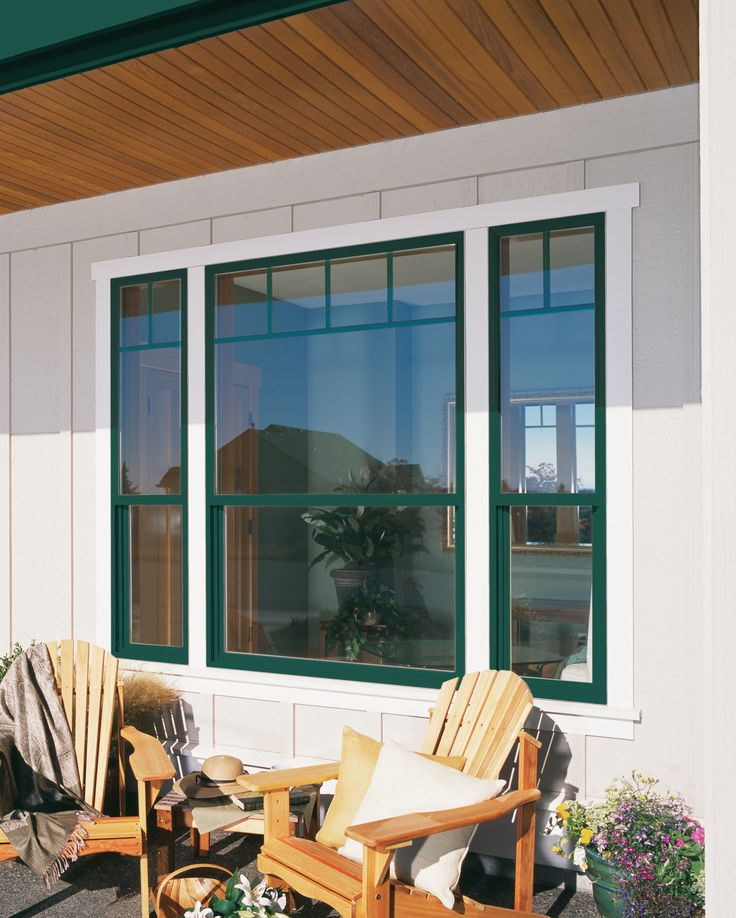 1000 ideas about single hung windows on pinterest for Single patio door with window