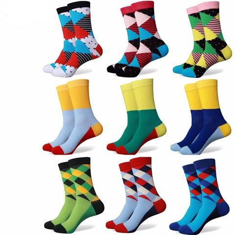 Coolest, Funkiest Patterned Dress Socks (21 options)
