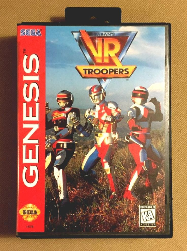 saban's vr troopers #sega genesis (tested game case & manual) from $2.99