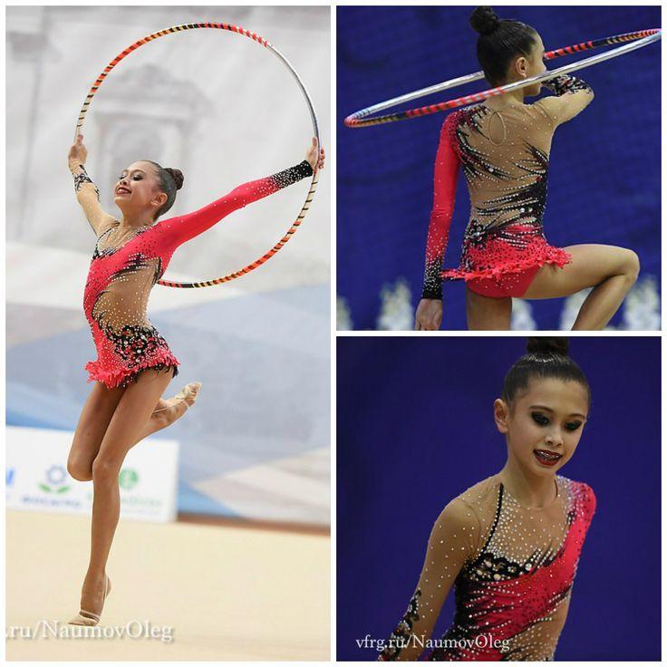 Amina Khaldarova (Russia), junior, hoop 2016