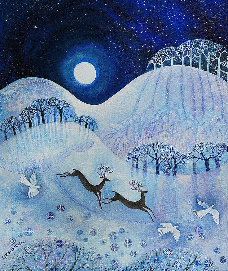 Snowy Peace by Lisa Graa Jensen