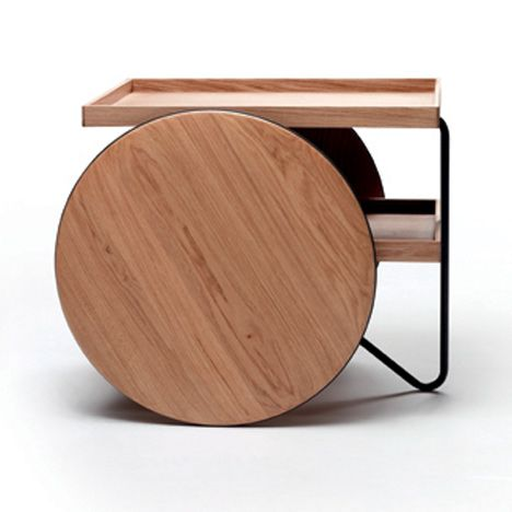 Chariot (designed by GamFratesi for Casamania) - can be used as side table