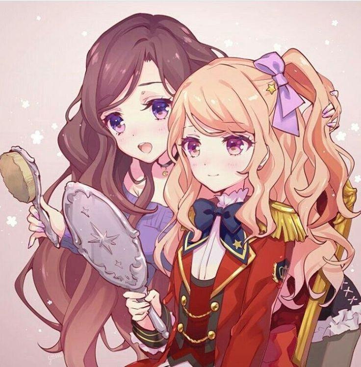 Yozora Kazumi and Mahiru Kasumi