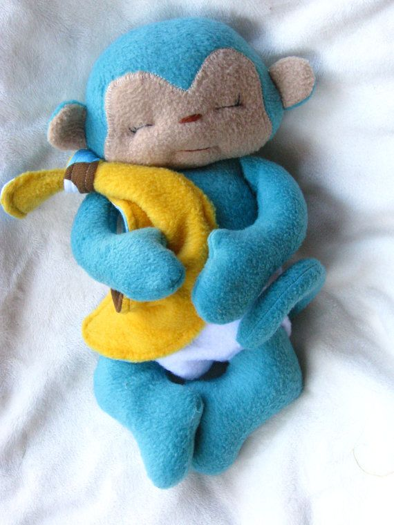 Tiny Monkey PDF Sewing Pattern por NimblePhish en Etsy